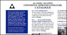 Al-Anon/Alateen Catalogue of Conference Approved Literature